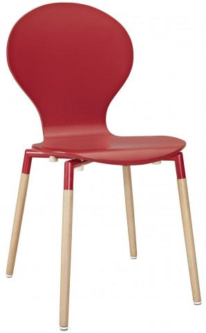 Path Red Dining Side Chair