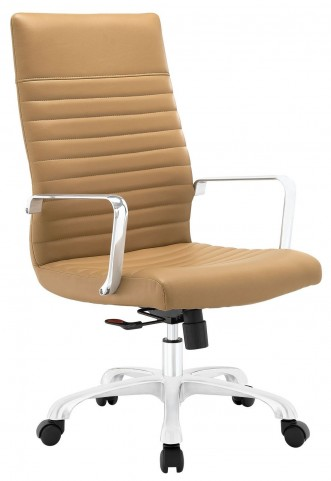 Finesse Tan Highback Office Chair