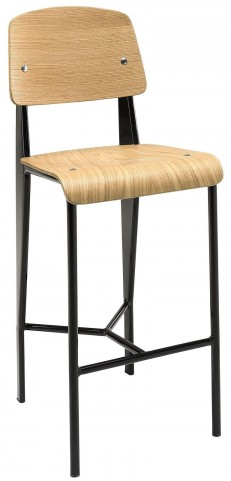 Cabin Natural Black Counter Stool
