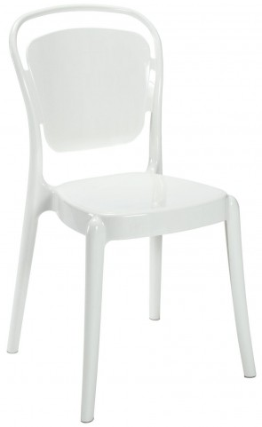 Entreat White Dining Side Chair