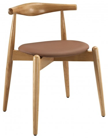 Stalwart Natural Tan Dining Side Chair