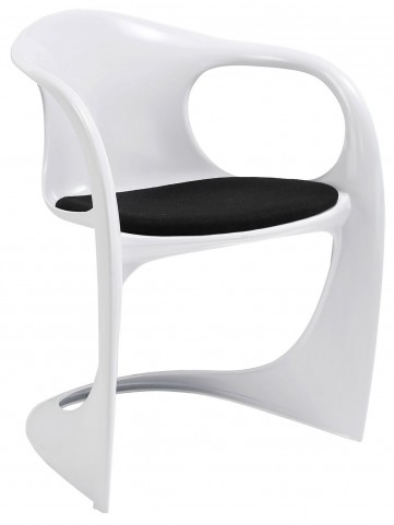 Sequence Black Dining Armchair