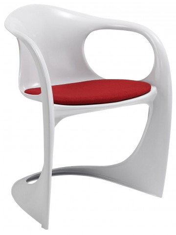 Sequence Red Dining Armchair