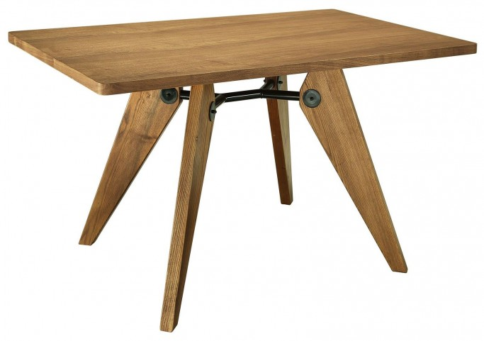 Landing Walnut Wood Dining Table