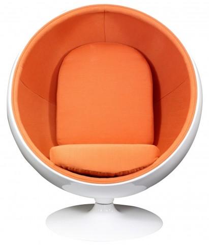 The Kaddur Chair in Orange