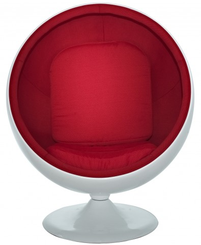The Kaddur Chair in Red