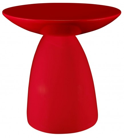 Flow Red Side Table