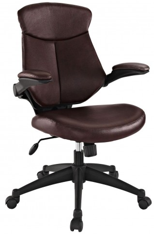 Stealth Brown Mid Back Office Chair