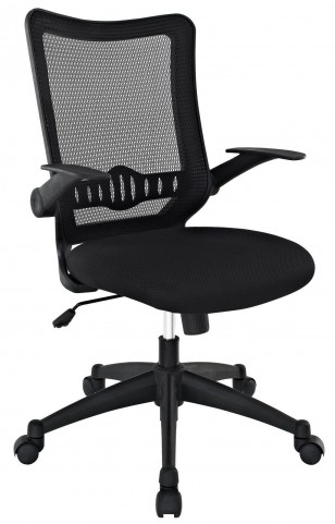 Explorer Black Mid Back Office Chair