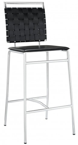 Fuse Black Bar Stool