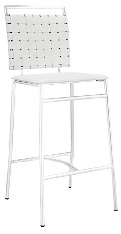 Fuse White Bar Stool
