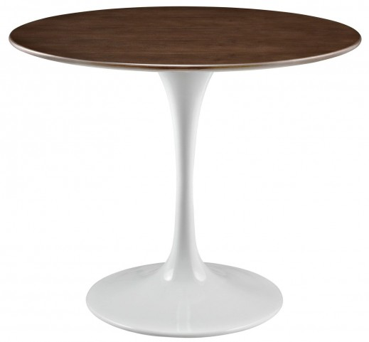 "Lippa Walnut 36"" Walnut Dining Table"