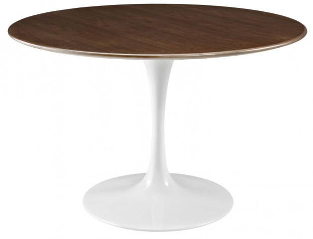 "Lippa Walnut 47"" Walnut Dining Table"