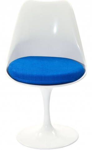Lippa Side Chair with Blue Cushion