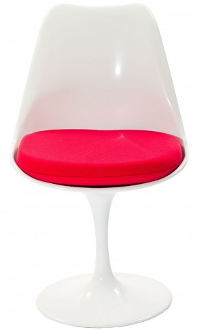 Lippa Side Chair with Red Cushion