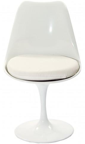 Lippa Side Chair with White Cushion