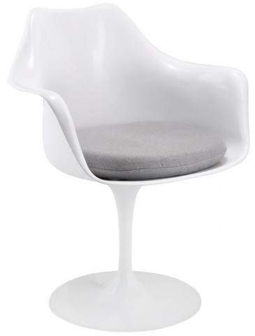 Lippa Gray Dining Armchair