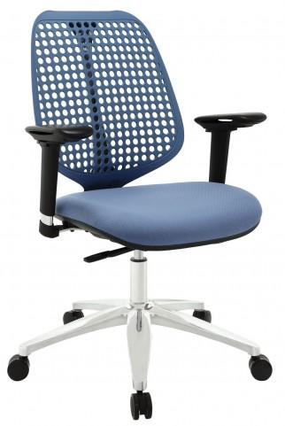 Reverb Blue Premium Office Chair