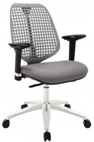 Reverb Gray Premium Office Chair