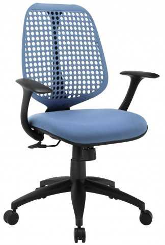 Reverb Blue Office Chair