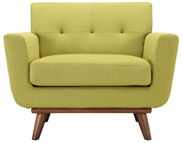Engage Wheatgrass Upholstered Armchair