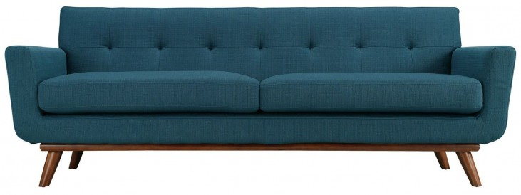 Engage Azure Upholstered Sofa