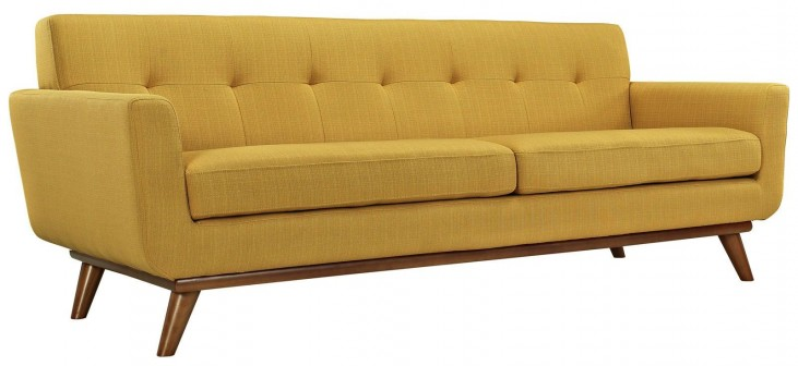Engage Citrus Upholstered Sofa