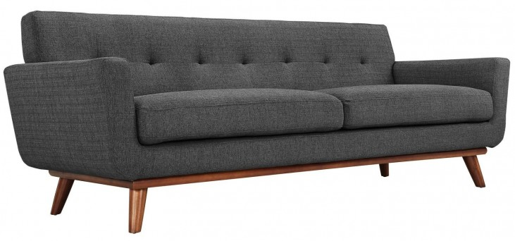 Engage Gray Upholstered Sofa