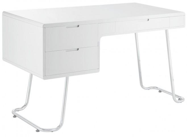 Swing White Office Desk