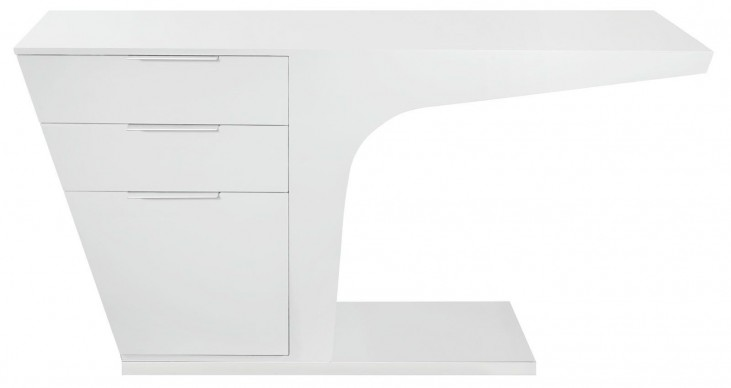 Warp White Office Desk