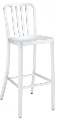 Deck Silver Bar Stool
