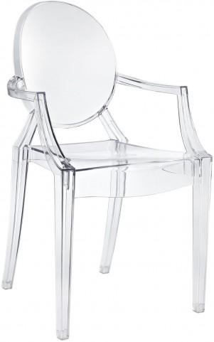 Casper Arm Chair in Clear