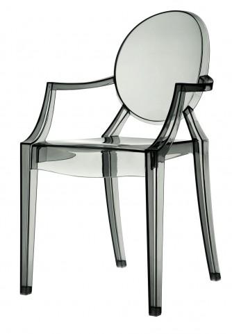 Casper Arm Chair in Smoke