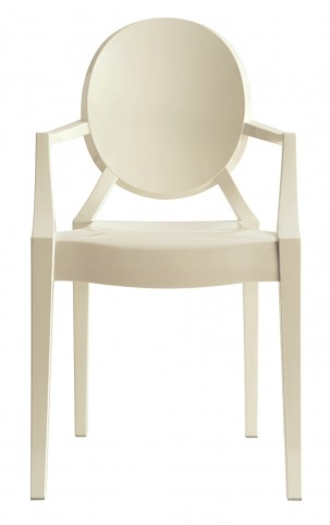 Casper Arm Chair in White