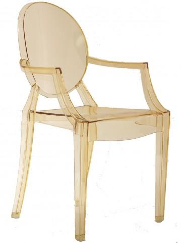 Casper Arm Chair in Yellow