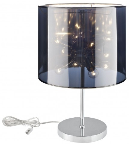 Arena Silver Table Lamp