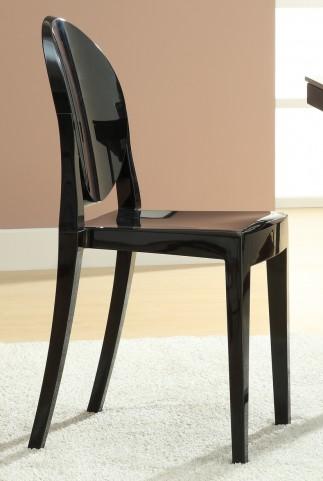 Casper Side Chair in Black