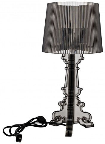 French Petit Black Table Lamp