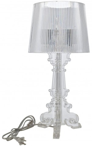French Petit Clear Table Lamp