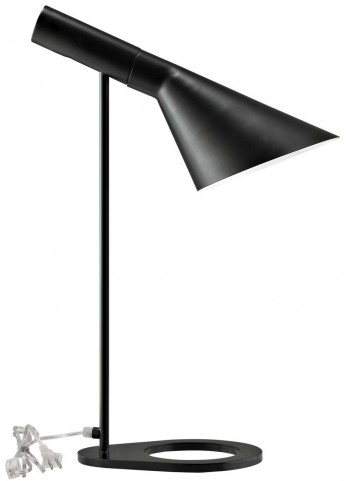 Flashlight Black Table Lamp