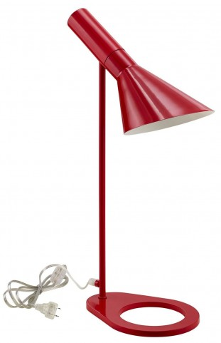 Flashlight Red Table Lamp