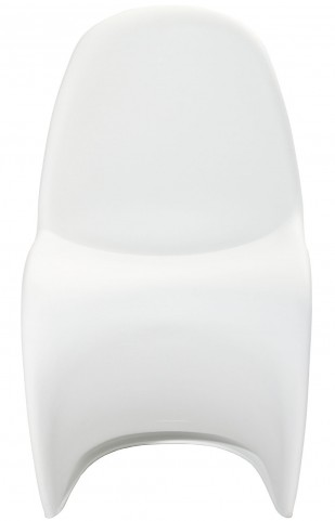 Slither Chair in Glossy in White