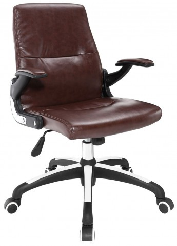 Premier Brown Highback Office Chair
