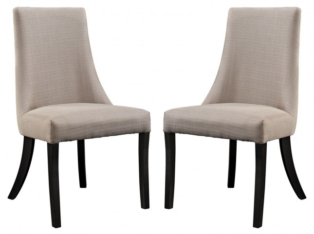 Reverie Beige Dining Side Chair Set of 2