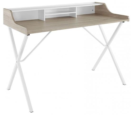 Oak Bin Desk