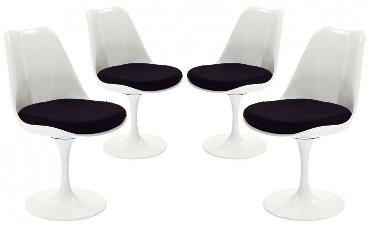 Lippa Black Dining Side Chair Set of 4