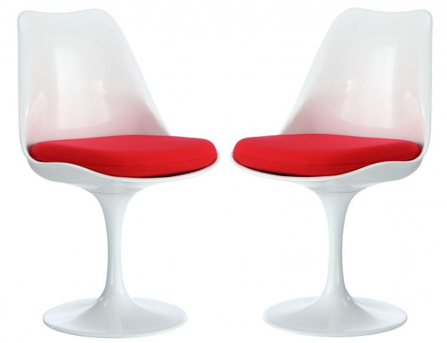 Lippa Red Dining Side Chair Set of 2