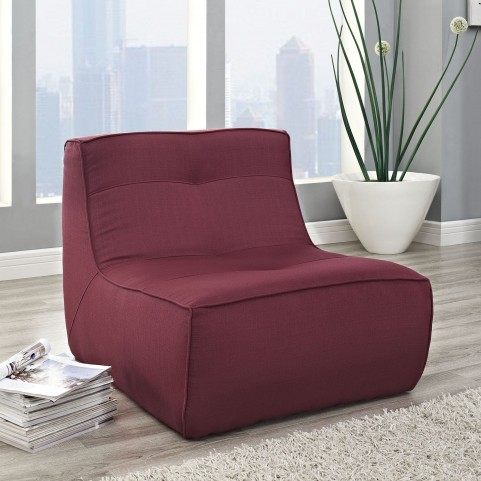 Align Berry Upholstered Armchair