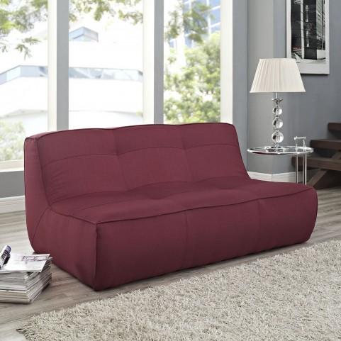 Align Berry Upholstered Loveseat
