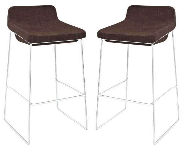Garner Brown Bar Stool Set of 2